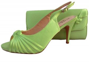 Lime Green Evening Shoes