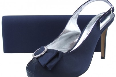 Navy Evening Shoes at Sole Divas