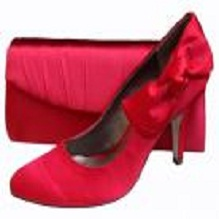 Fabulous Red Evening Shoes and Matching Bags For Valentines Day