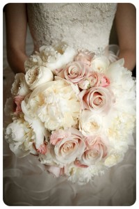 Peonies Wedding Boquet