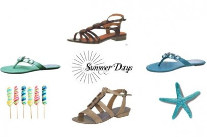 Ladies Shoes and Summer Sandals to Wear on the Beach