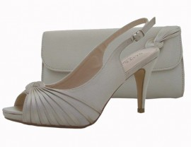 Annabel Champagne Evening Shoes