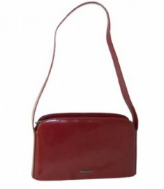 Claudio Ferrici Italian Leather Handbag Red