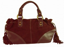 Whisper Soft Grab Bag Brown