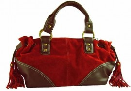Whisper Soft Grab Bag Red
