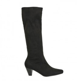 Ladies Stretch Boots in Black