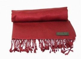Dark Red Pashmina Shawl