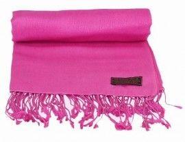 Fushia Pink Pashmina Shawl