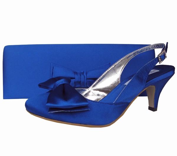 Match Shoe For Blue Dress