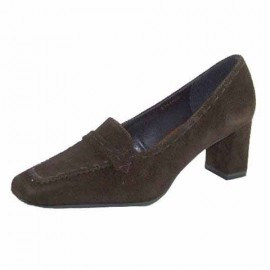 Janine Heeled Ladies Loafer