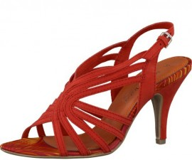 Karen Red Ladies Sandals