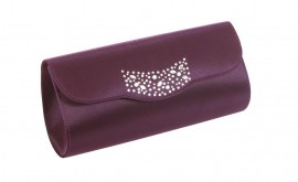 Lexus Plum Clutch Bag