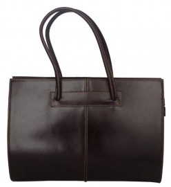 Italian Leather Tote Bag Brown
