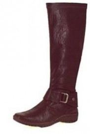 Marco Tozzi Black Flat Stretch Boots