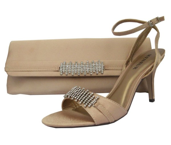 Nude Bag Evening And Shoes SandalsMatching rBoWdCxe