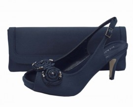 Menbur Avance Navy Blue Ladies Shoes