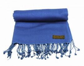 Pashmina Stole in Jewel Blue