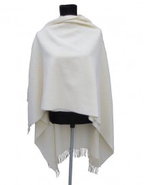 Italian Cape 100% Lambs wool Cream