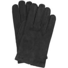Leather Suede Gloves with Fleece Lining