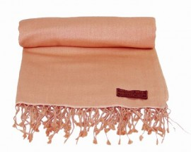 Pashmina Stole in Light Coral
