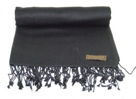 Pashmina Shawl in Black