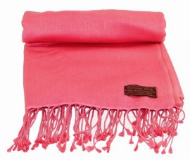 Pashmina Stole in Pink