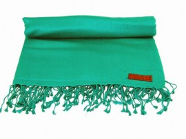 Pashmina Shawl in Emerald Green