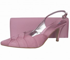 Selina Quartz Pink Ladies Shoes