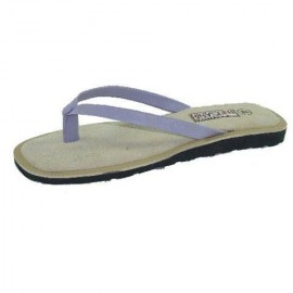 Sophie Lilac Leather Toe Post Sandals