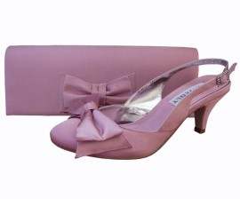 Twee Quartz Pink Sling Back Ladies Shoes