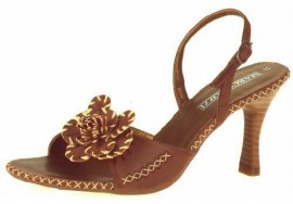 Daisy Espresso Heeled Sandals