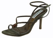 Emerau Khaki Evening Sandals