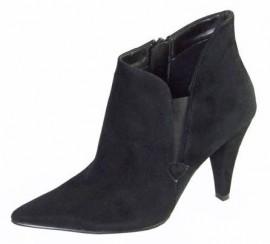 Entri Velvet Ankle Boot