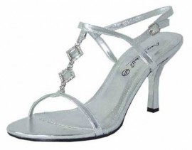 Lianne Silver Evening Sandals