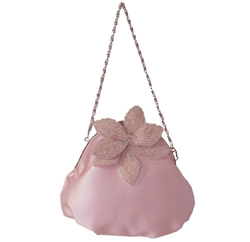 Pink Evening Bag With Free Delivery