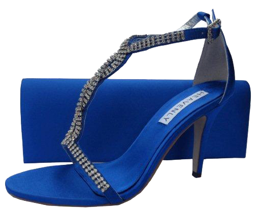 Bernice Royal Blue Evening Sandals Reduced 163 45
