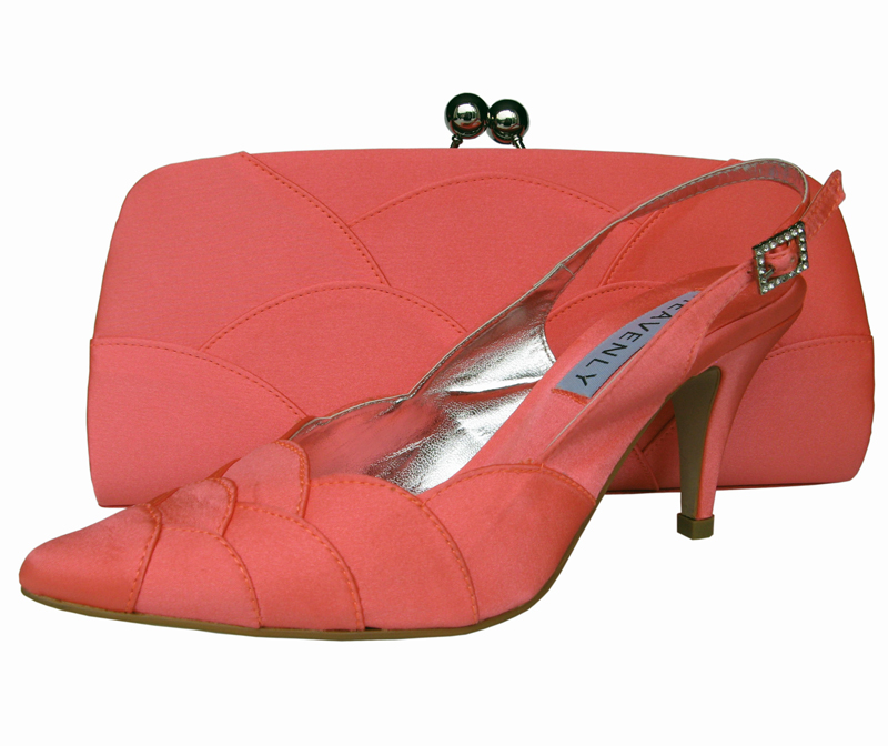 Coral Ladies Evening Shoes | Sole Divas