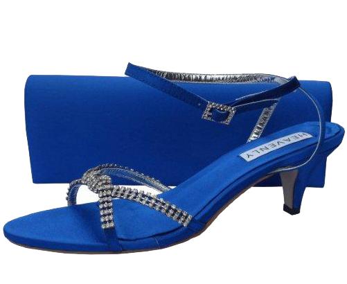 Royal Blue Evening Sandals   Sole Divas
