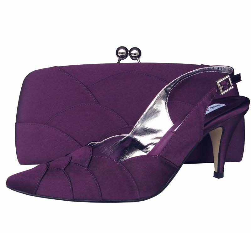 Designer Navy Evening Shoes Uk